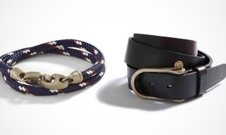 Nautical Inspired Belts and Bracelets from Sailormade
