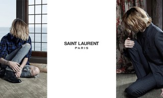 Saint Laurent Color Campaign Cole Smith for Fall 2013