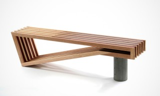 A Beautifully Designed Bench from Sawdust Bureau