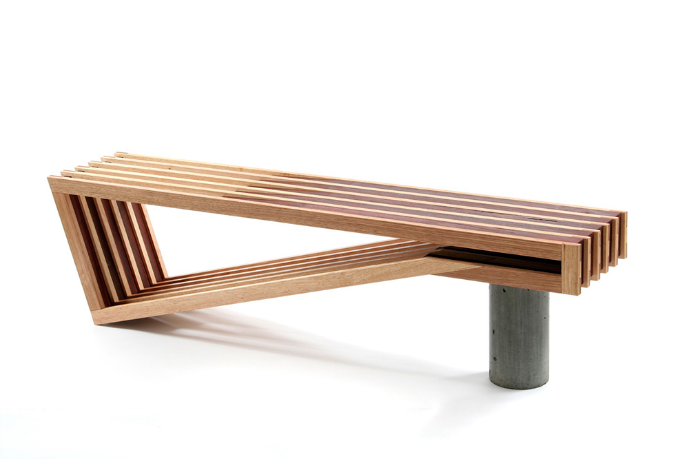 A Beautifully Designed Bench From Sawdust Bureau Selectism