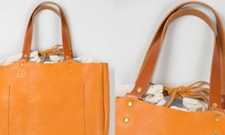 SLOW Produce a Leather Tote to Get Enthusiastic About