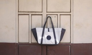 Stighlorgan Mixes Raw Calico & Lacquer Coated Canvas in The Trefor Bag