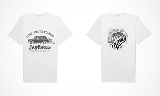 Sunspel Teams with House Industries & Others for Pop-Up Shop T-Shirts