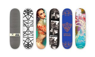 Five Limited Edition Skateboards by W Hotels