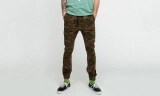 Zanerobe Green Floral Sureshot Chino