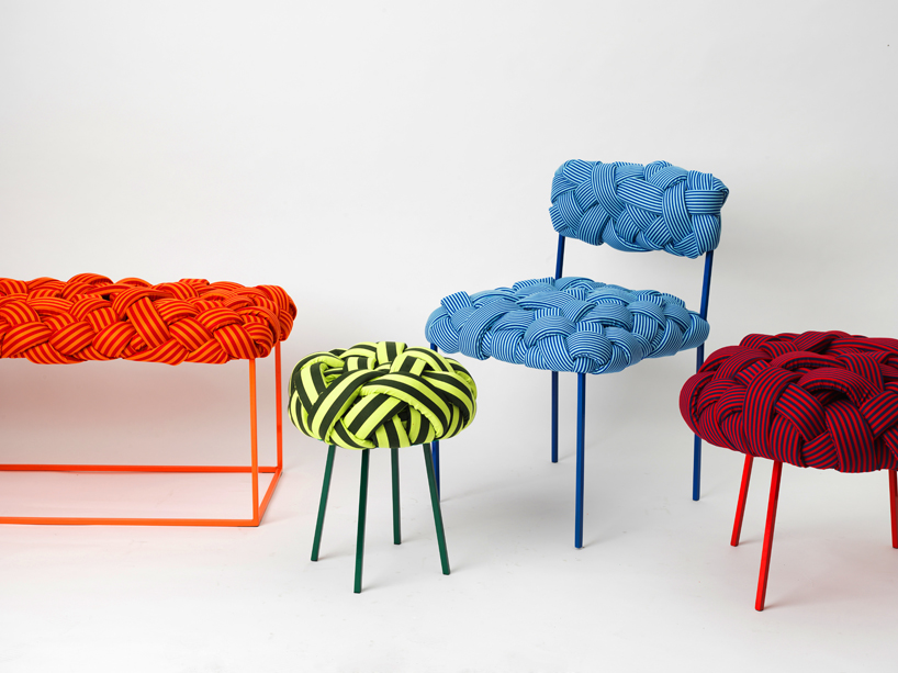 Woven Cloud Seating Collection from Humberto Damata