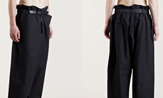 Pants from the Past – Damir Doma Archive Collection Wide Leg Trousers