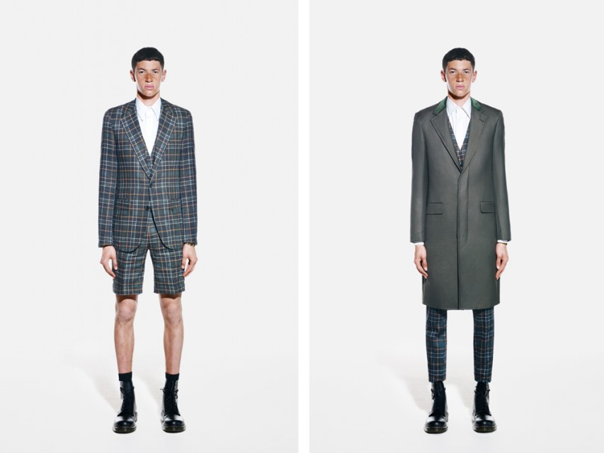 First Look: A. Sauvage Spring Summer 2014 Menswear