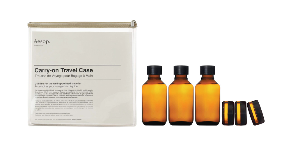 AESOP Carry-On Tavel Case Kit 1