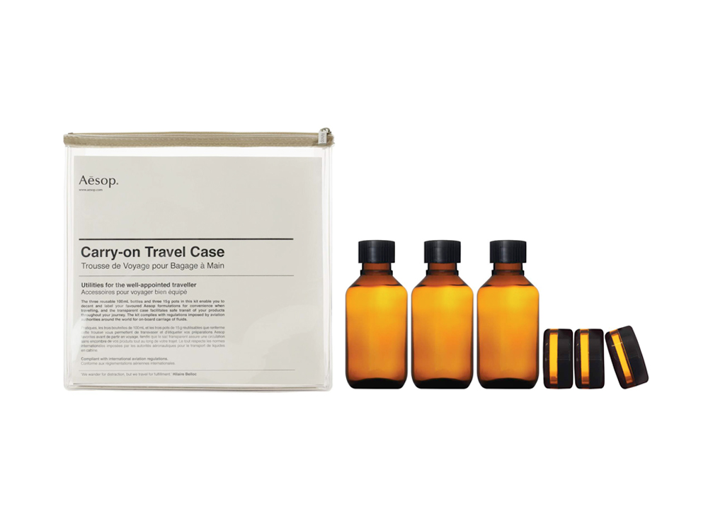 AESOP Carry-On Tavel Case Kit 2
