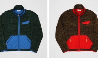 Classic Zip-Up Fleeces from Creep by Hiroshi Awai