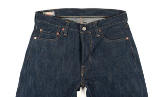 Self Edge and Dry Bones Limited Edition Hank-Dyed Jeans