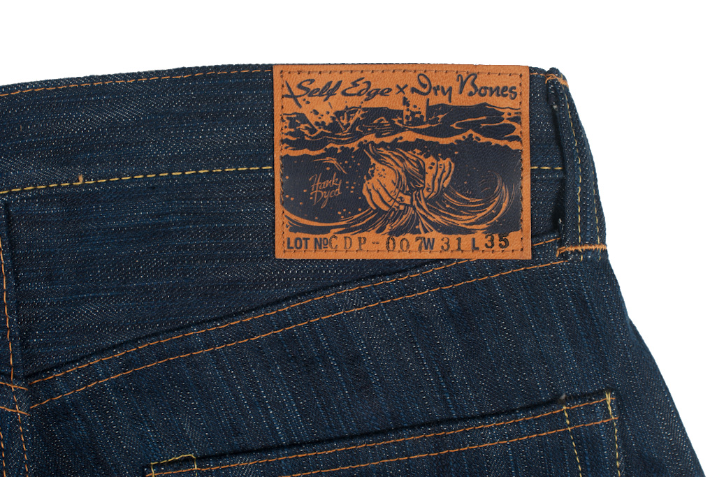Self Edge and Dry Bones Limited Edition Hank-Dyed Jeans 2