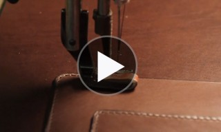 Watch Frank Clegg Leather Works Build a New Bag