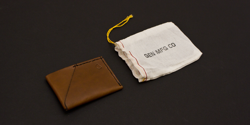 Gen Mfg Co. 2 Pocket Wallet 1