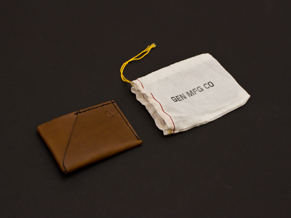 Gen Mfg Co. 2 Pocket Wallet 2