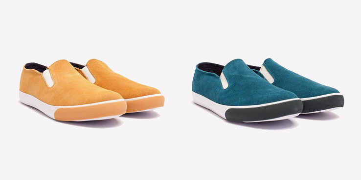 Generic Surplus Slip On Suede Sneakers 1