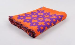 Denmark's HAY Present the PLUS 9 Lightweight Blanket