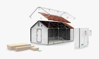 IKEA Solar-Powered Flat-Pack Shelters