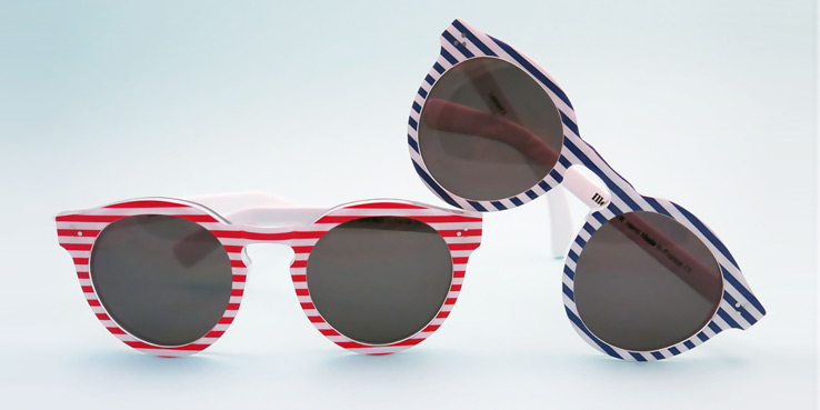 Illesteva Sunglasses Fourth of July Collection 1