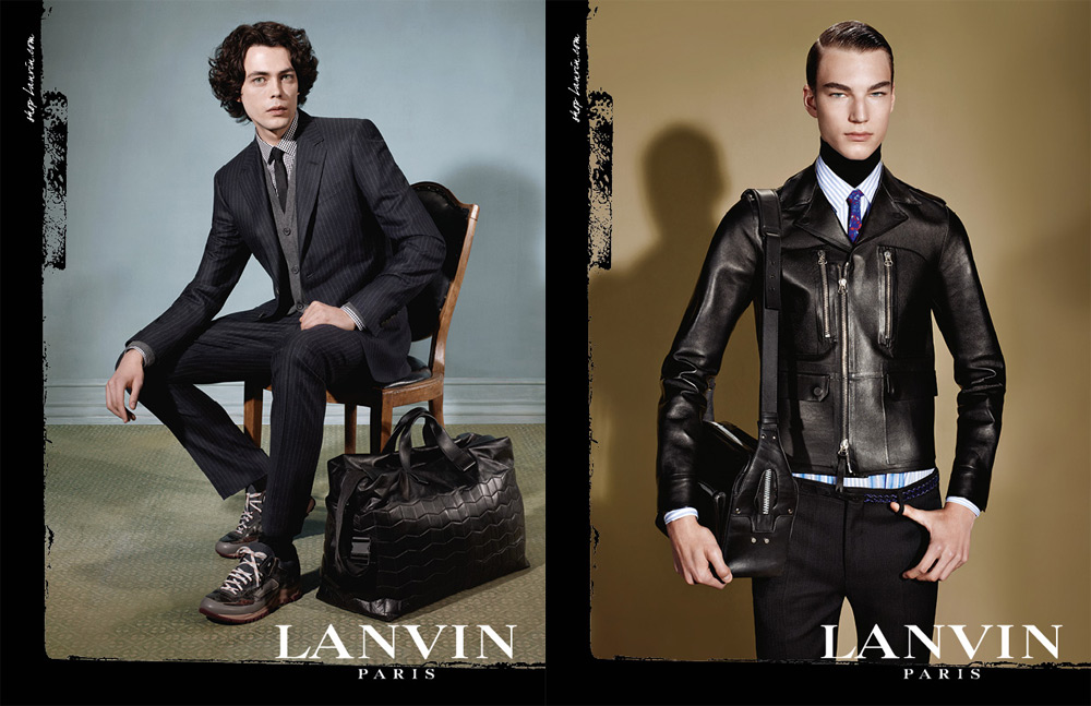 Lanvin Homme Fall 2013 Campaign with 6 Men of Diversity 2