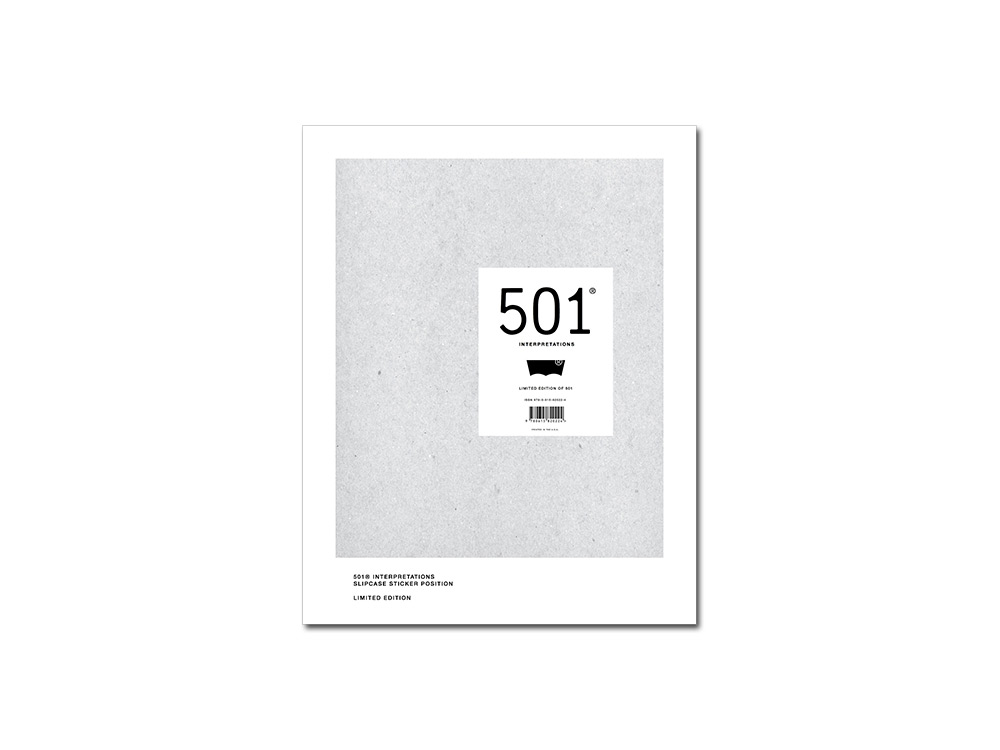 The 501 in Focus - Limited-Edition Levi's book '501 Interpretations'