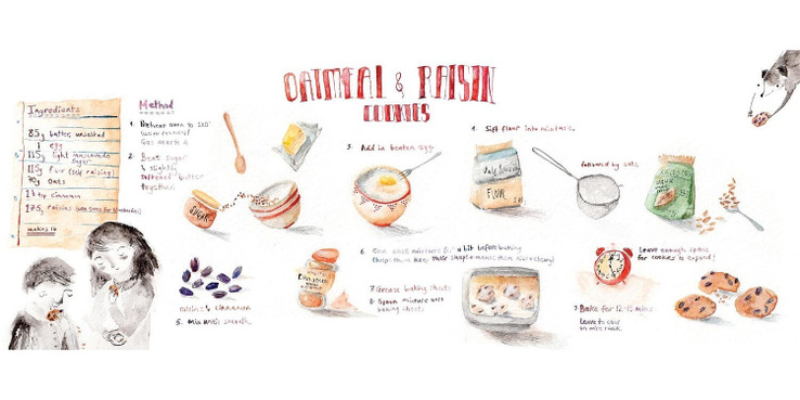 Lucy Eldridge Recipe Illustration 00