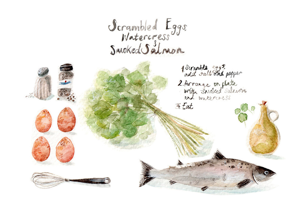 Lucy Eldridge Recipe Illustration 02
