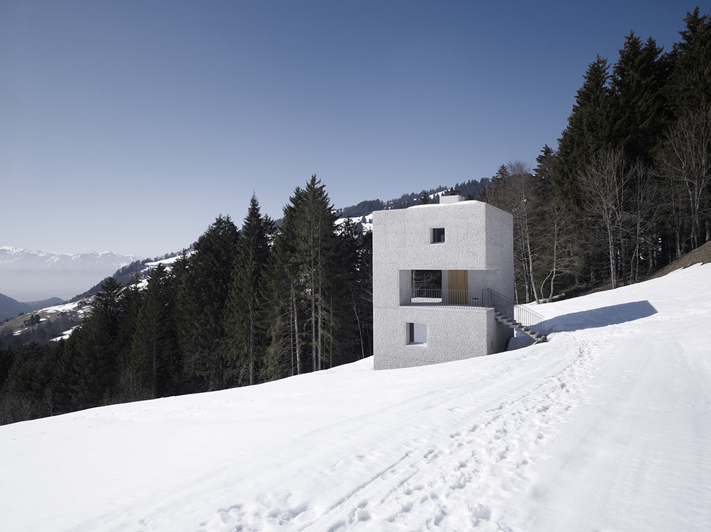 See a Mountain Cabin in Austria that Engages with Its Surrounding Landscape 2