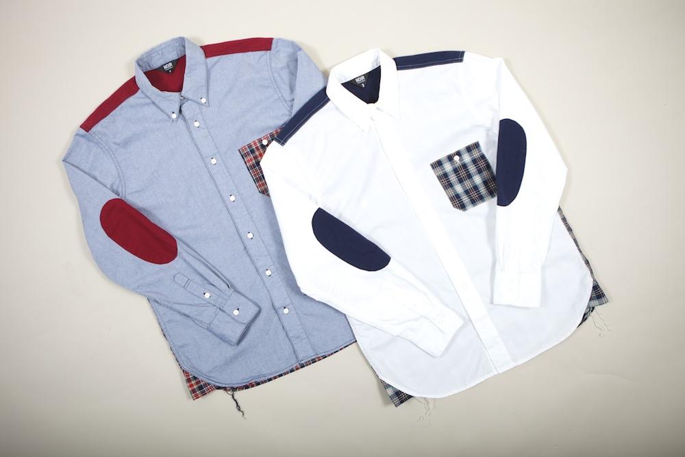Noir Panel Shirts 07