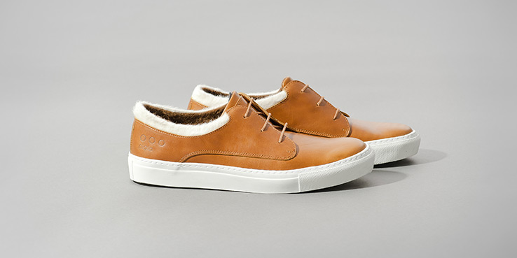 Piola Alpaca Wool Sneakers in Tan 2013 1