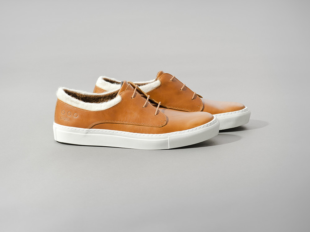 Piola Alpaca Wool Sneakers in Tan 2013 2