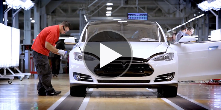 Watch How A Tesla Model S Car is Made 1