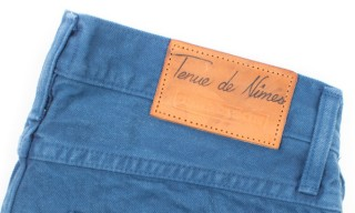 Tenue de Nîmes & Tellason Produce a Limited Run of Garment Dyed Indigo Jeans