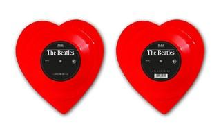 "The Beatles ""Love Me Do"" Heart-Shaped Vinyl Single"
