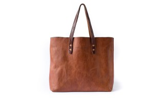 The Whipping Post Vintage Tote Bag in Vegetable-Tanned Leather