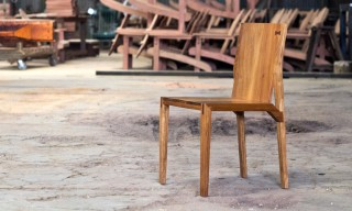 Aaron Poritz Furniture Made from Nicaraguan Hardwoods