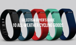 Selectism Buyer's Guide | 10 All-Weather Cycling Goods