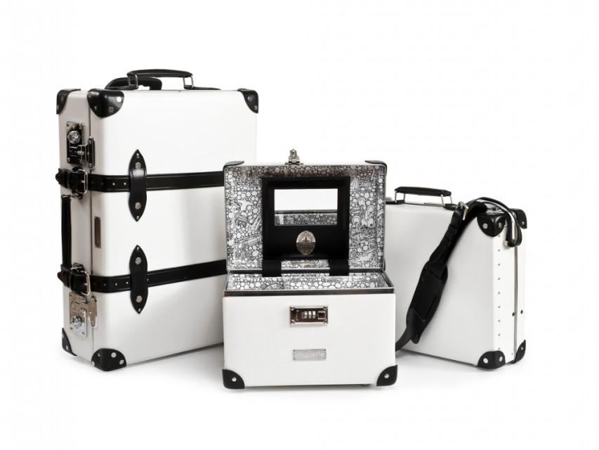 Etiquette Clothiers and Globe-Trotters Luggage 2013 01