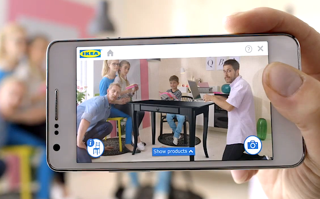 Virtual Furniture Arrangement With The New IKEA Augmented Reality App