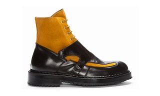 Kris Van Assche Fall Winter 2013 Hybrid Monk Boot