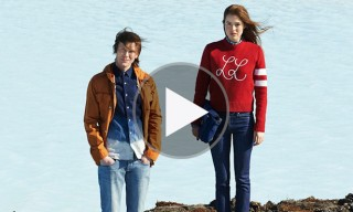 Lacoste L!VE Travel to Iceland for Fall Winter 2013 Campaign