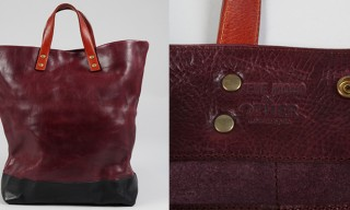 Steve Mono for OTHER Oxblood Leather Tote Bag