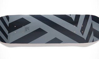 Shut Skateboards for Ace Hotel Dazzle Camo Print Deck