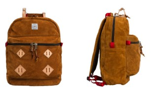 A Peanut Suede Backpack from Epperson Mountaineering