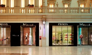 See the New Prada Store in Doha, Qatar