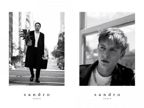 Sandro Fall 2013 Campaign 01