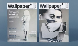 Wallpaper* Magazine Unveils New Look & Custom Typefaces in Latest Issue