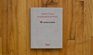"""Thirty Years Of Research In Style – WP Lavori in Corso"" Book from Rizzoli"