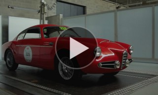 Watch Zagato Discuss their Special Edition 1957 Alfa Romeo 1900 SSZ